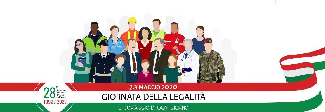 Messaggi del sindaco – UN LENZUOLO BIANCO PER LA GIORNATA DELLA LEGALITÀ