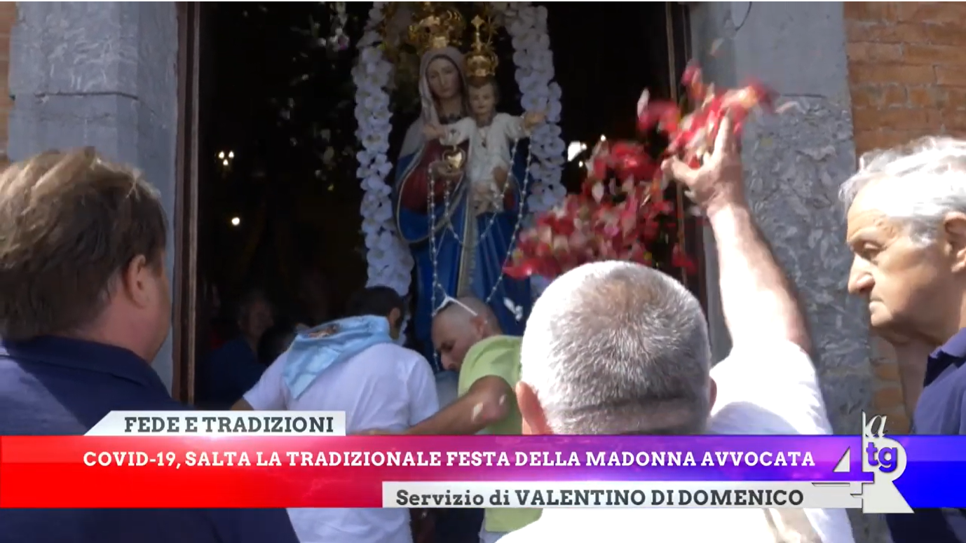 Covid 19, salta la tradizionale festa della Madonna Avvocata