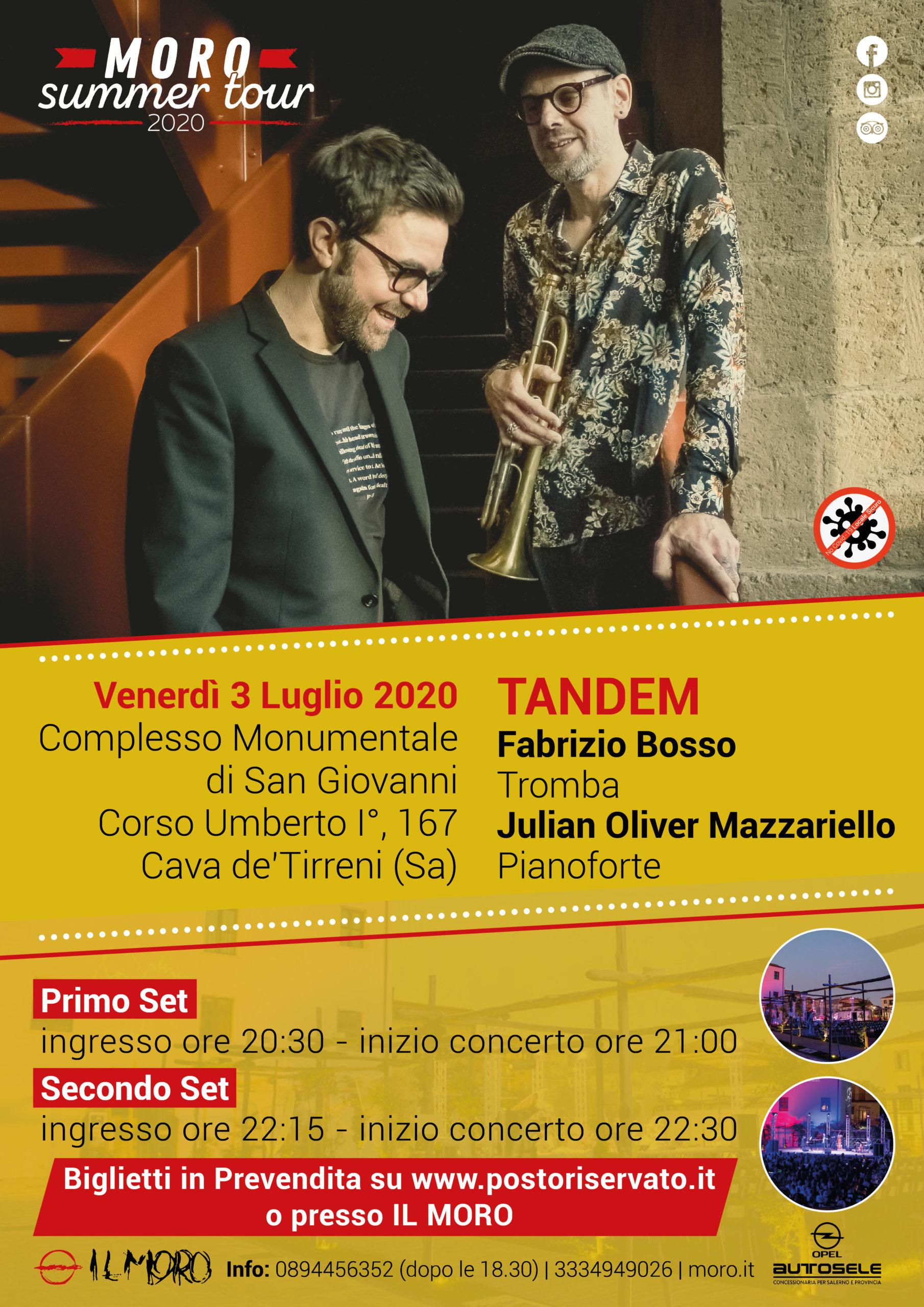 Pub Il Moro: Venerdì 3 luglio – Tandem
