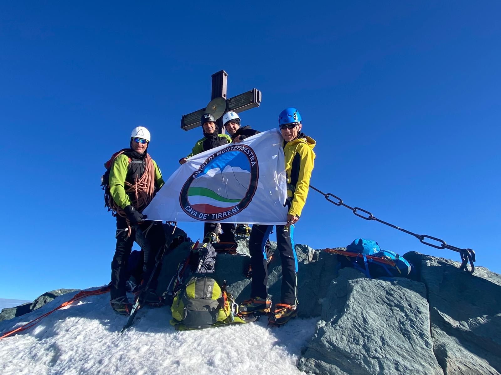 Gli amici di Montefinestra salgono in cima al Glossglokner