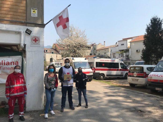 Cava, anche la Croce Rossa Italiana collabora per la riapertura delle scuole
