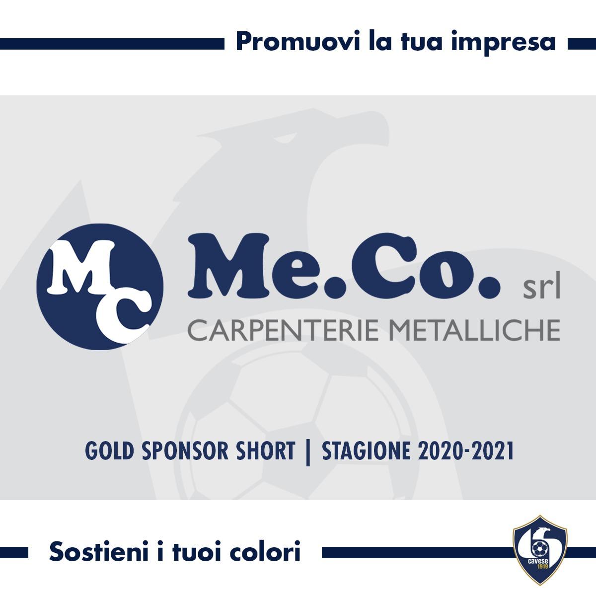 #MeCoSrl Gold Sponsor Short della Cavese 1919