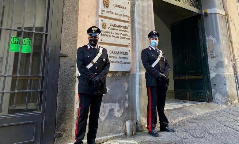 Due rapine tra Salerno e Cava, 23enne ai domiciliari: soldi servivano per acquistare droga