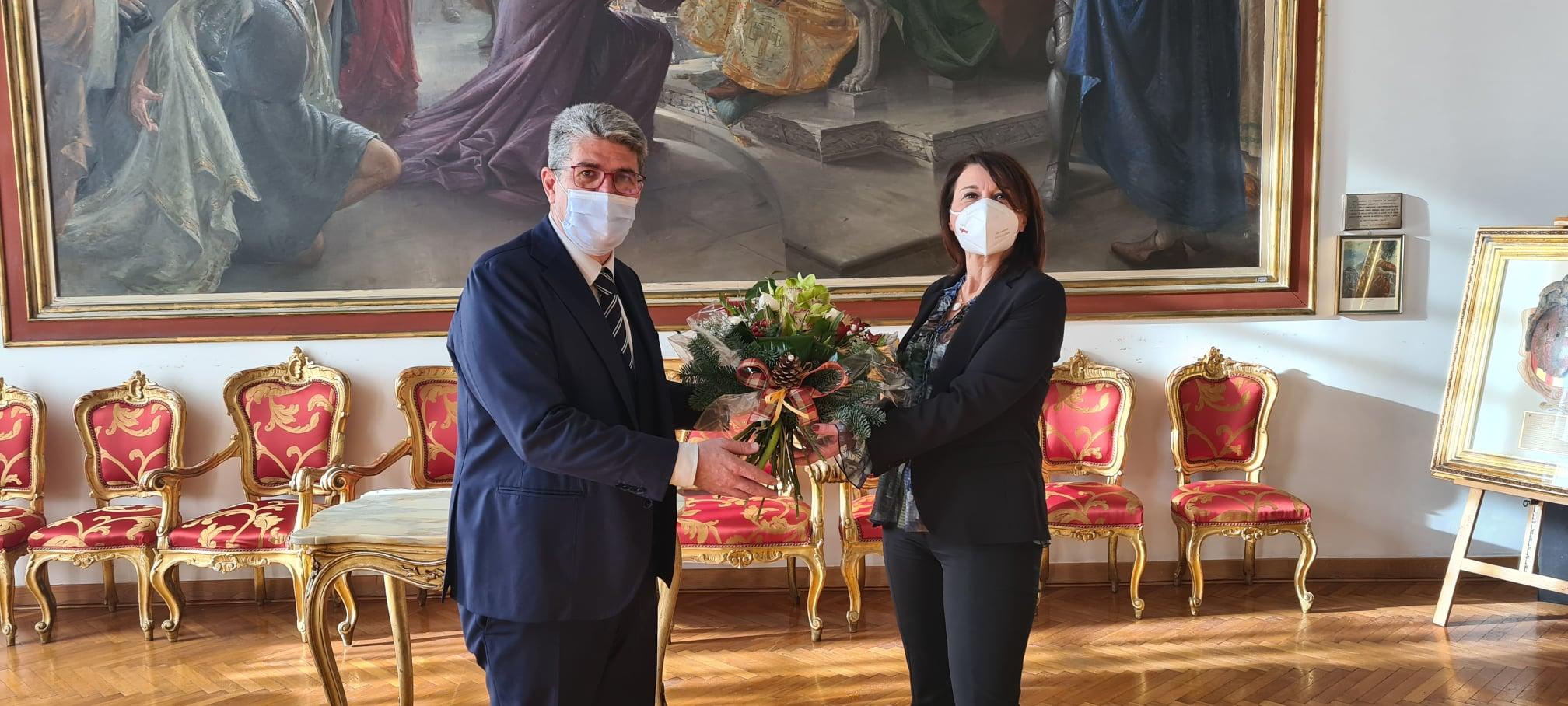 Messaggi del sindaco, PRIMO GIORNO DEL NUOVO SEGRETARIO GENERALE