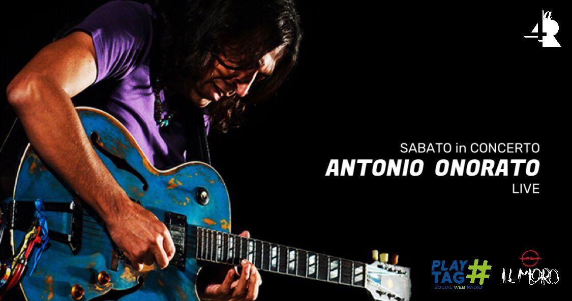 Pub Il Moro, musica live con Antonio Onorato su Radio Play Tag