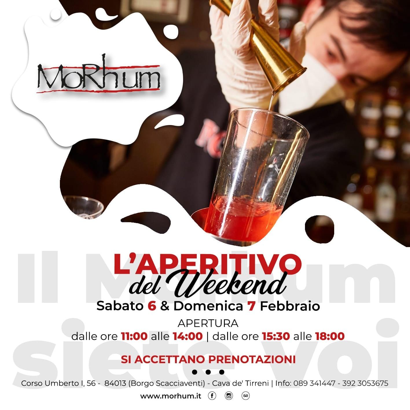 Morhum e DAM – L'APERITIVO DEL WEEKEND