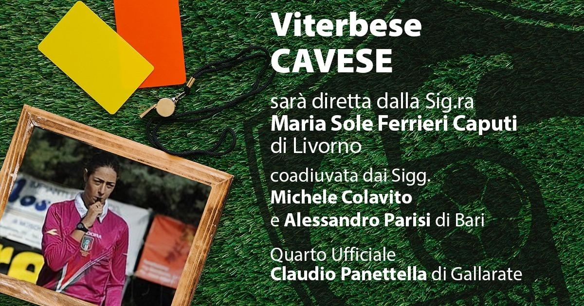 Cavese – Viterbese, la designazione arbitrale