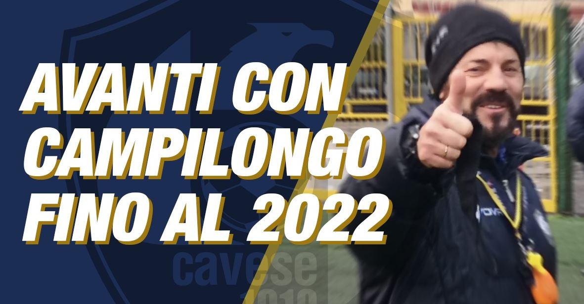 Cavese, Campilongo rinnova fino al 2022