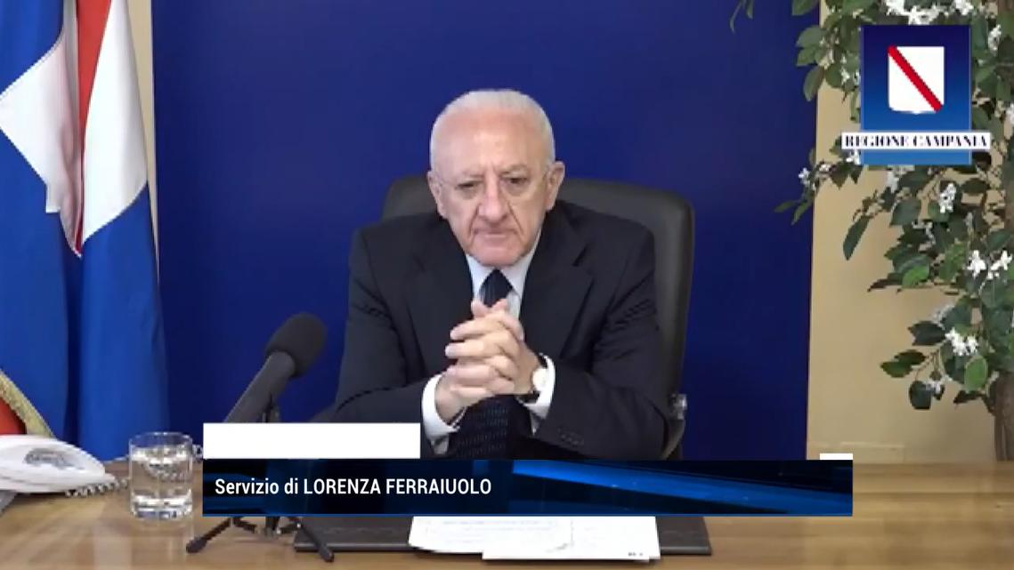 Vaccini, l'unità di crisi della Regione Campania scrive al Ministero della Salute