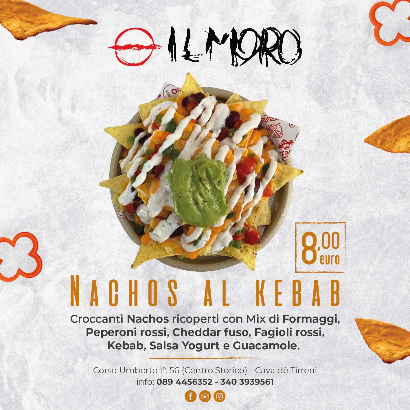Scopri i Nachos al Kebab del Pub Il Moro!