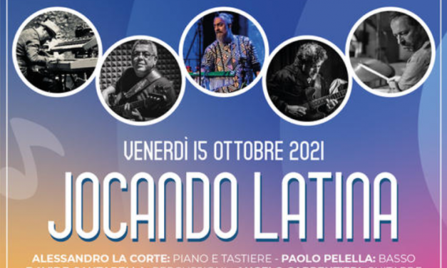 Venerdì 15 ottobre Jocando Latino al pub il moro