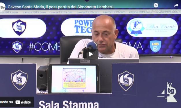 "Cavese-Santa Maria, il post partita dal ""Simonetta Lamberti"""