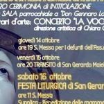 Al via i festeggiamenti patronali a San Cesario Martire di Cava, prevista anche l'intitolazione di una sala a Don Gennaro